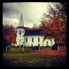St Mark's - one of a million churches on PEI.
