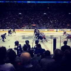 Toronto Maple Leafs vs. New York Islanders.