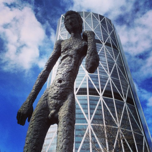The Family of Man, 1 St SE/6 Ave SE, Downtown Calgary.