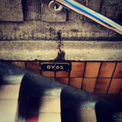 What do the alphanumeric signs in subway stations mean!?