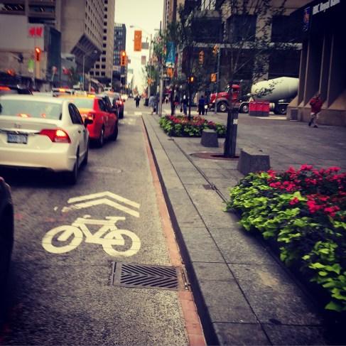 Goodbye Bloor St Bike Lane