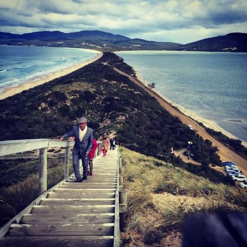 The neck, Bruny Island, Tasmania.