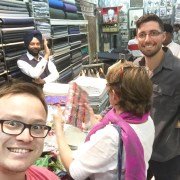 Textile shop