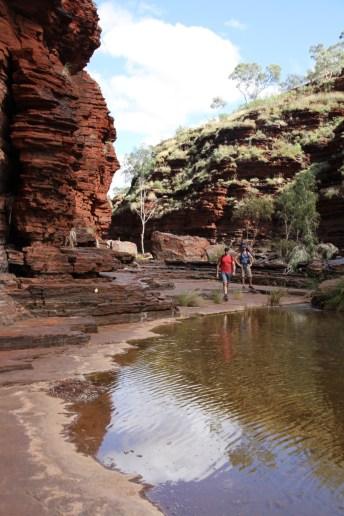 Kalamina Gorge. Karijini, Western Australia.