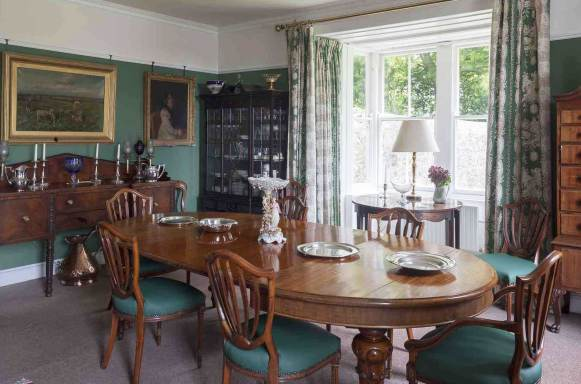 Dining in style at glenlohane house in kanturk