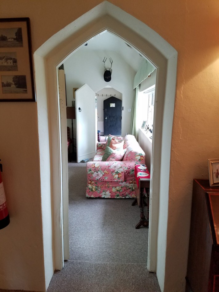 elegant doorways at the holiday house in glenlohane