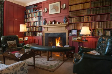 the study at Glenlohane estate co cork