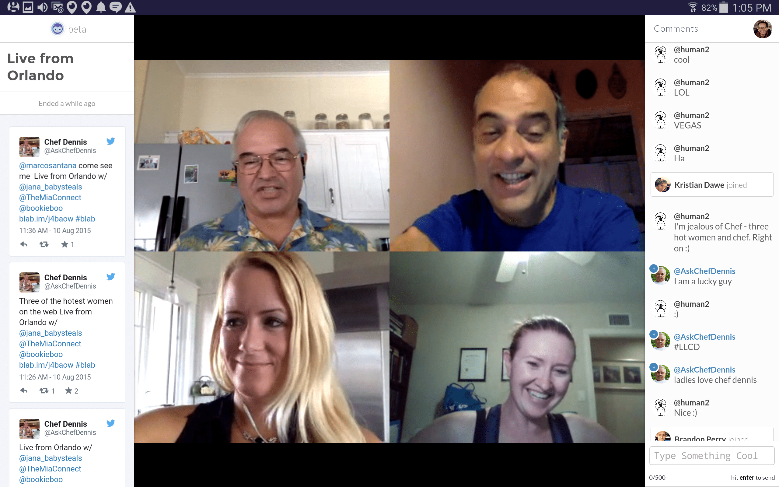 Blab is so August! - Glenn Zucman / blog