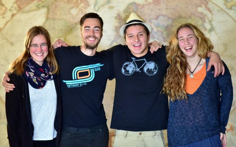 Mio, Patrick, Nico & Marina