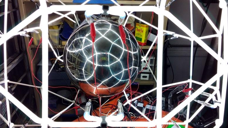 Neon Polyhedron