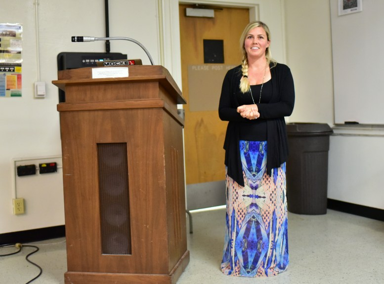 Chantae Reden speaking @CSULB SOA FA4-311