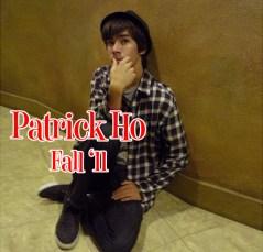 Patrick Ho, Fall '11