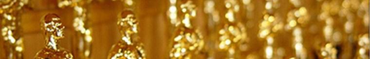 photo of many academy award oscar statues
