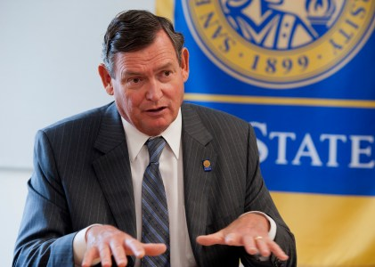 Tim White's 1st year as CSU Chancellor