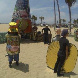 """haha, """"Mr. Venice Beach"""""""