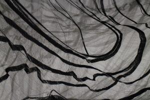 fiber art installation