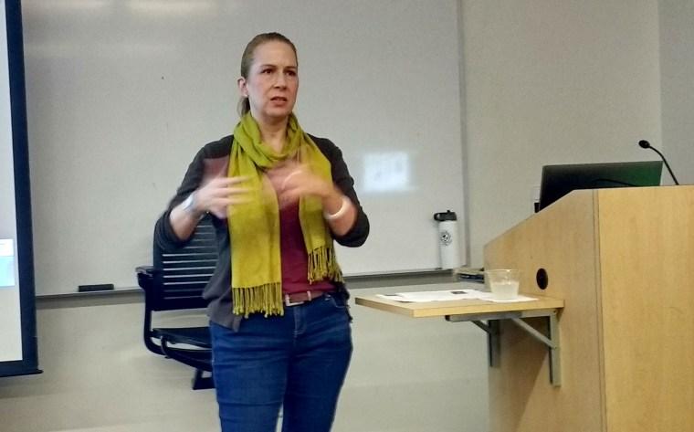 Susan C. Mills speaking at Public Knowledge: Media Training Workshop, Session 5