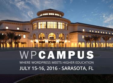 WP Campus Online talk proposal