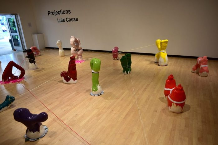 Installation in the CSULB Gatov West Gallery