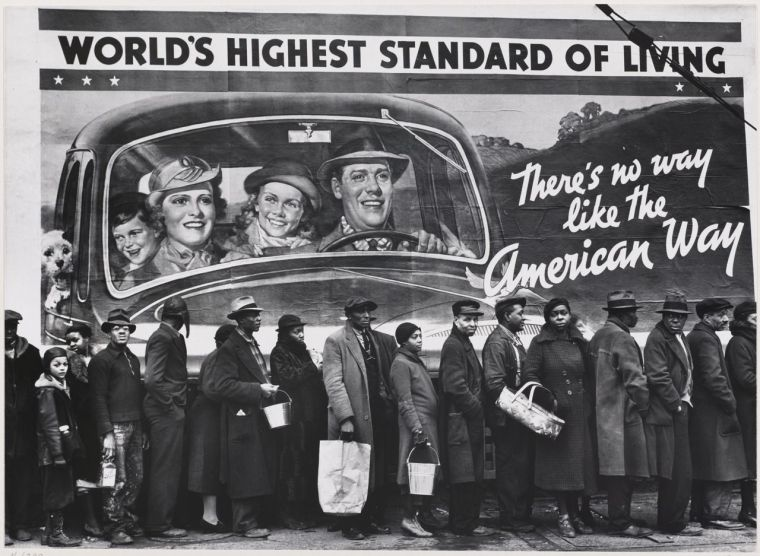 The American Way photo by Margaret Bourke-White