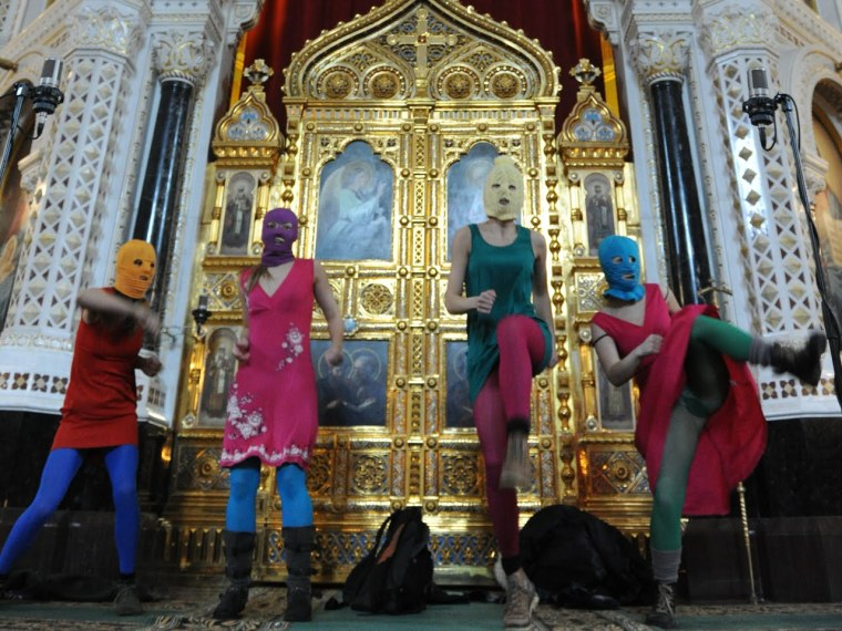 Pussy Riot, A Punk Prayer, Cathedral of Christ the Savior, Moscow, 2012