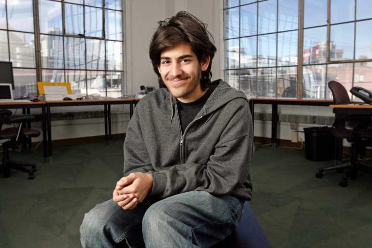photo of Aaron Swartz