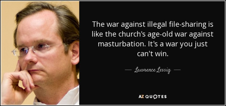 photo of Lawrence Lessig