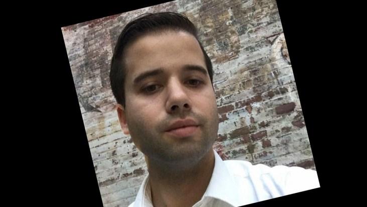 headshot of artist Nick Senteno