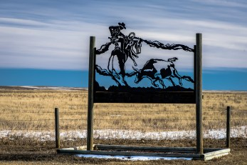 Rancher's sign