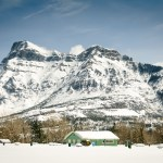In the Winter, Waterton Is All Ice and Snow.