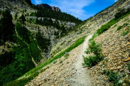 The Trail up to Goat Lake