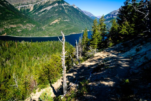 Back at Upper Waterton Lake