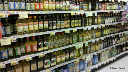 2011-08-12 11:47:02 The Brandywine ShopRite has a LOT of olive oil to choose from!