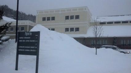 Snow Mound, Waterbury, VT