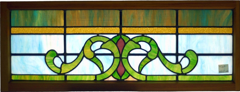 "Victorian Window #2 50 3/8"" x 17"" $595"