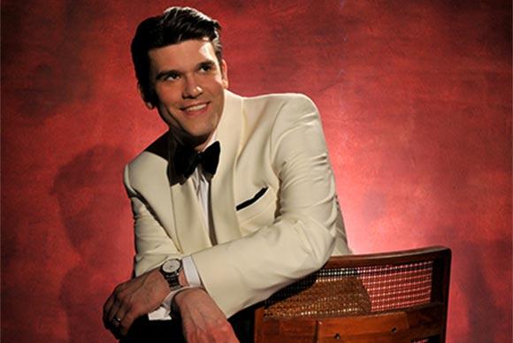 Nick Hilscher - Band Director / Male Vocalist (photo copyright glennmillerorchestra.com)