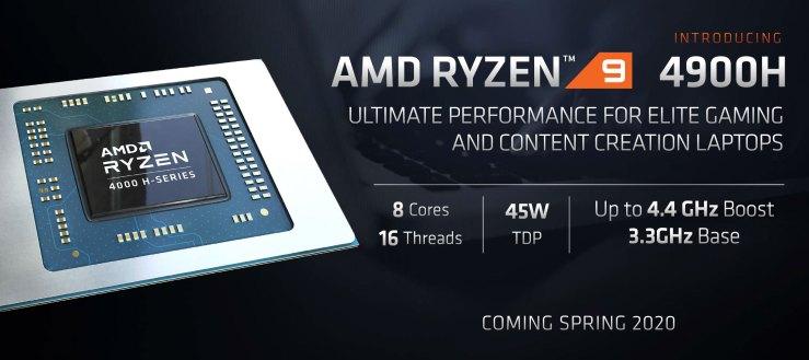AMD Ryzen 9 4800H