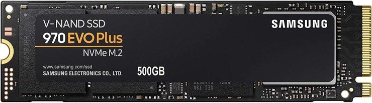 500GB Samsung 970 EVO Plus