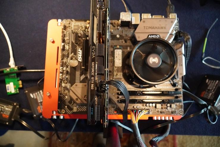 Building an MSI B450 Tomahawk System