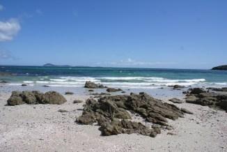 Rangiputa, une autre plage de Karikari Peninsula, très venteuse.