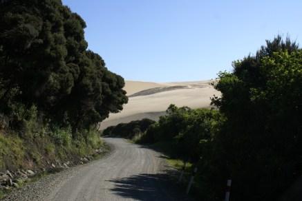 Dunes de sable de Te Paki.