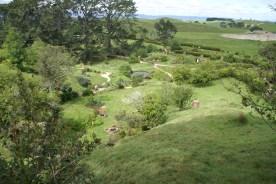 Une vue un peu en hauteur du vallon