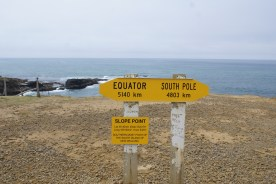 Slope Point, plus proche du pôle Sud que de chez moi!