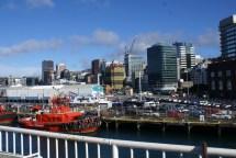 Wellington depuis le pont du ferry