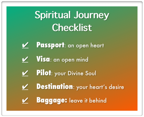 Spiritual Transformation checklist by author Glenn Younger with Enlightertainment.