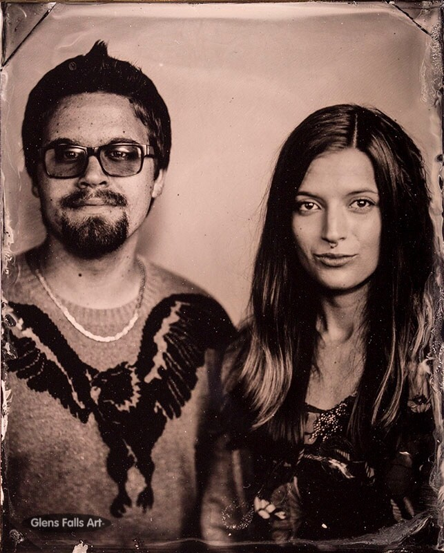 Tintype portrait photography by fine art tintype photographer Craig Murphy - Glens Falls Art tintype photography studio