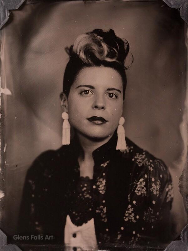 Tintype portrait photography by fine art tintype photographer Craig Murphy - Glens Falls Art tintype studio
