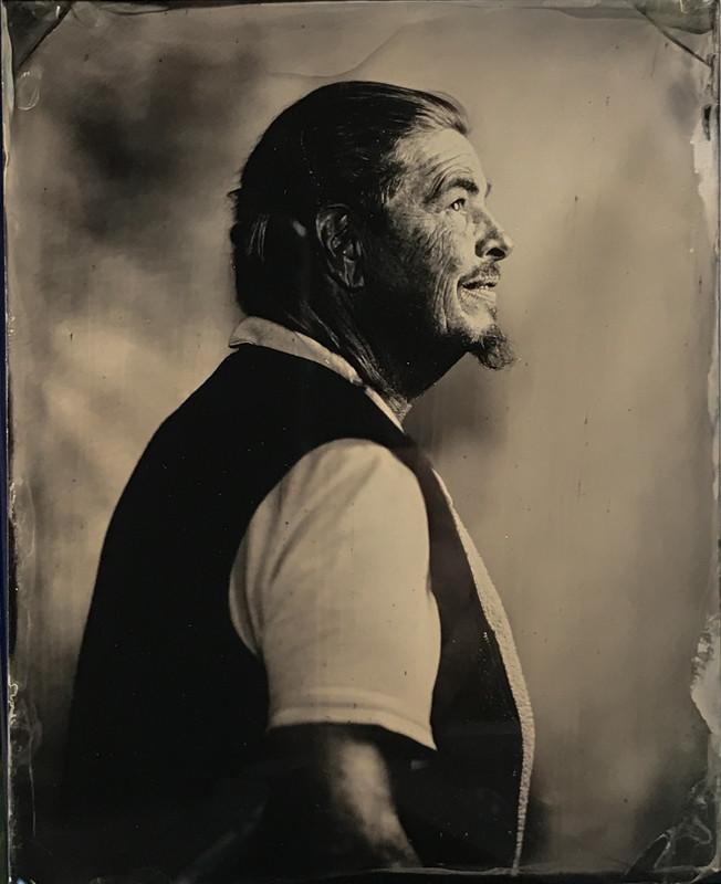 Tintype portrait made in Glens Falls by fine art tintype photographer Craig Murphy and Glens Falls Art tintype studio