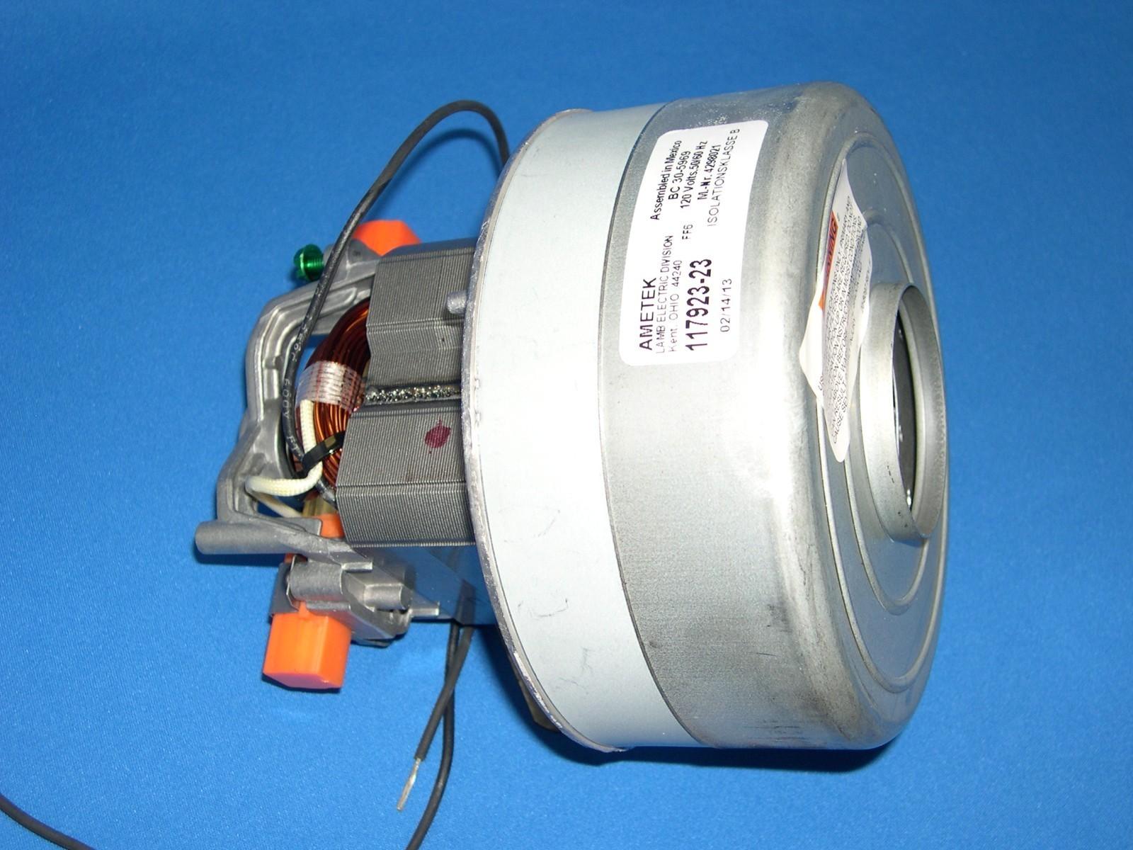 "New Ametek Lamb 2-Stage 5.7/"" Vacuum Motor 116311-01 116883 116366 116311-00"