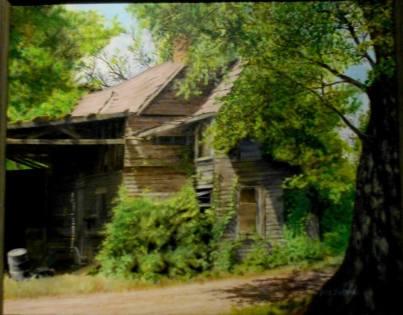 Abandoned House on Cobb Island
